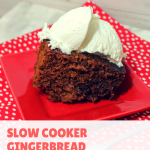 Slow cooker gingerbread recipe