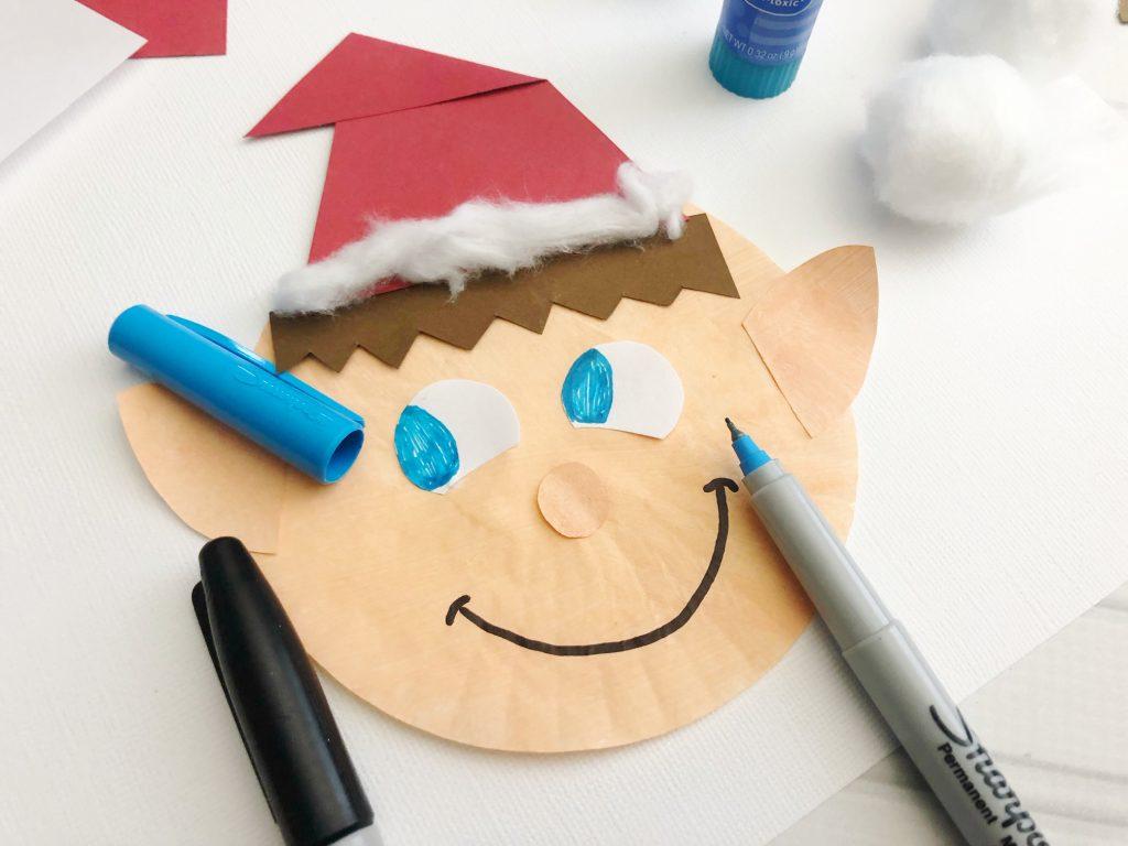 christmas elf craft for kids