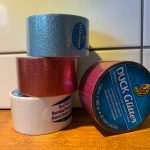 Win 4 rolls of Duck Glitter tape for crafting