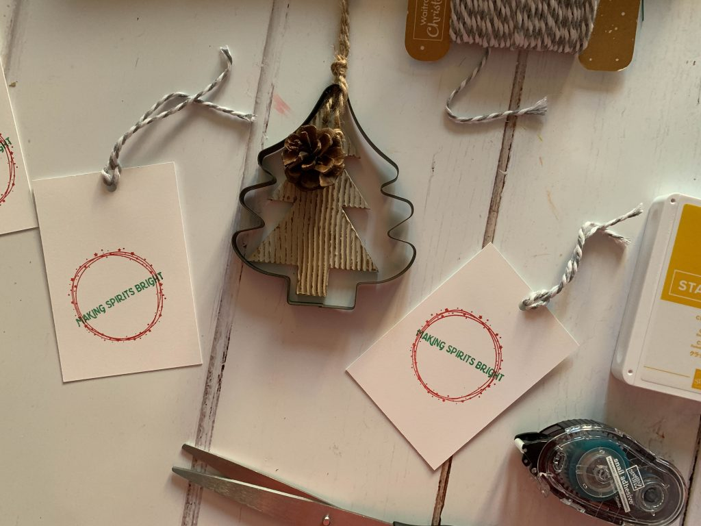 Stampin' Up! gift tags