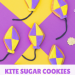 Kite Sugar Cookies tutorial