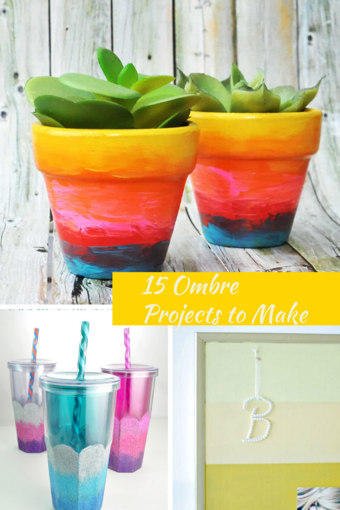 15 Ombre Projects to Make