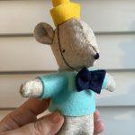 Miniature Felt Party Bear