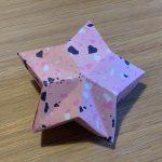 Crafting pretty paper stars
