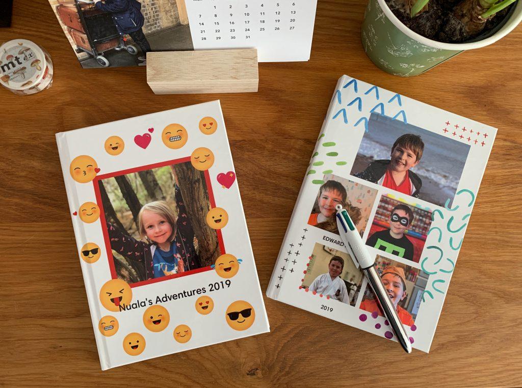 personalised notebooks