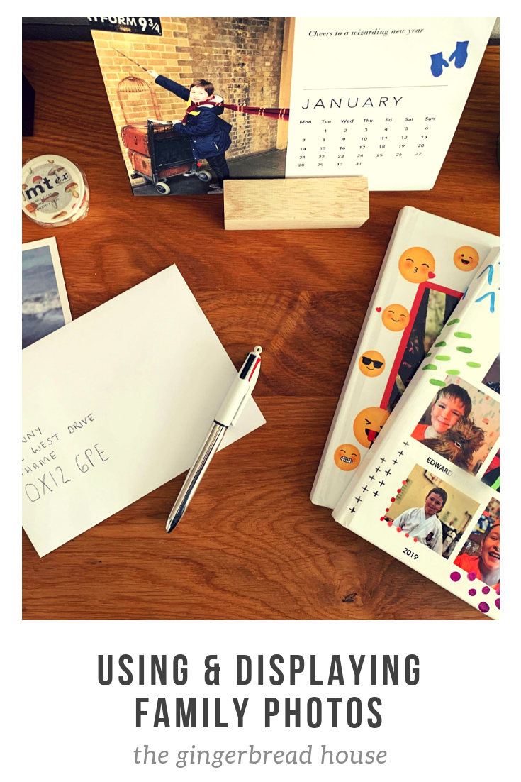 A New Year's Resolution to use and display family photos