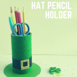Simple St. Patrick's Hat Pencil Holder