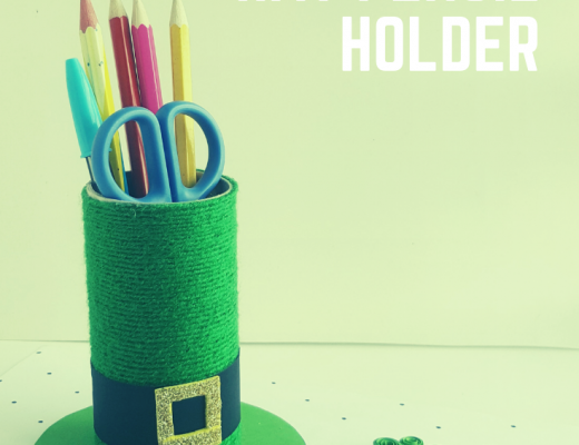 St. Patrick's Hat Pencil Holder