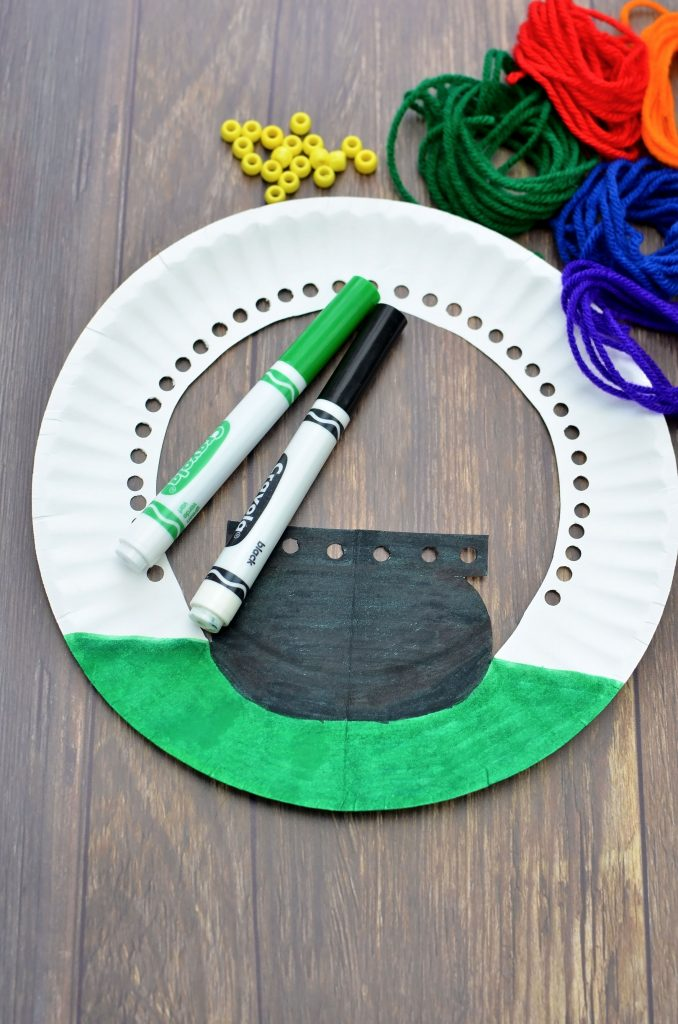 St Patrick's Day craft for kids