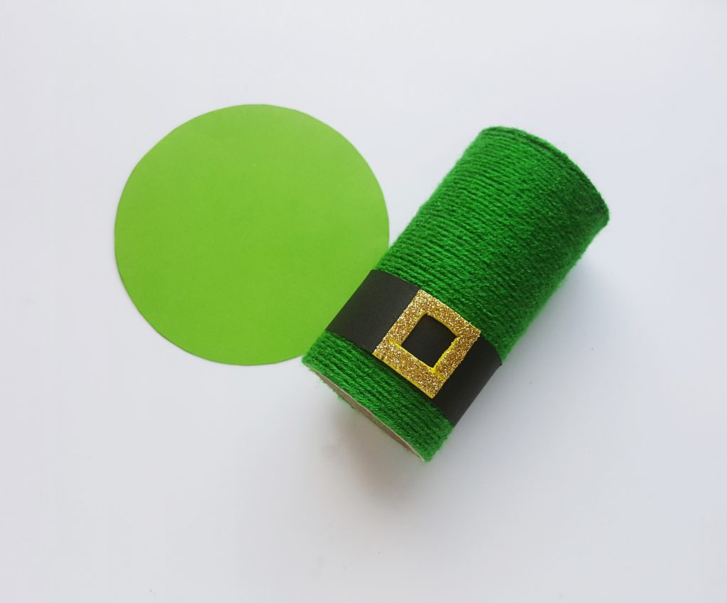 How to make a St. Patrick's Hat Pencil Holder