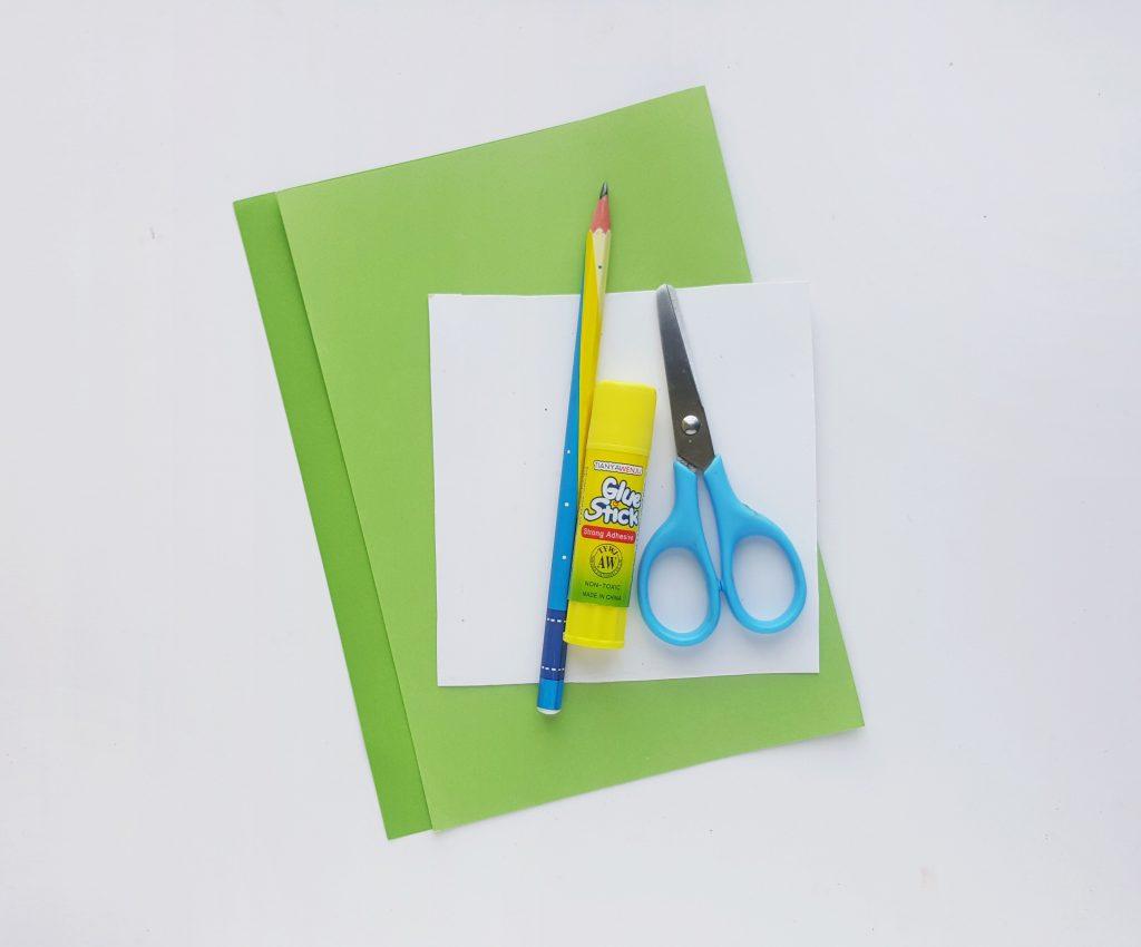 Shamrock Paper Wreath supplies