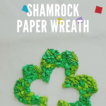 Shamrock Paper Wreath {St. Patrick's Day Craft}
