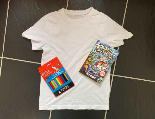 George from Captain Underpants World Book Day costume