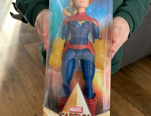Marvel Captain Marvel super hero doll from Hasbro