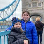 Exploring Tower Bridge with kids