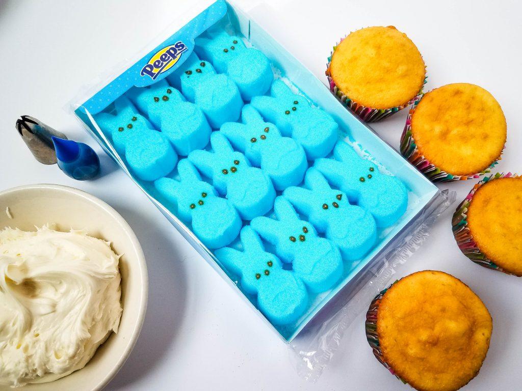 Peeps Bunny Cupcakes ingredients
