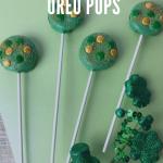 St Patrick's Day Oreo Pops