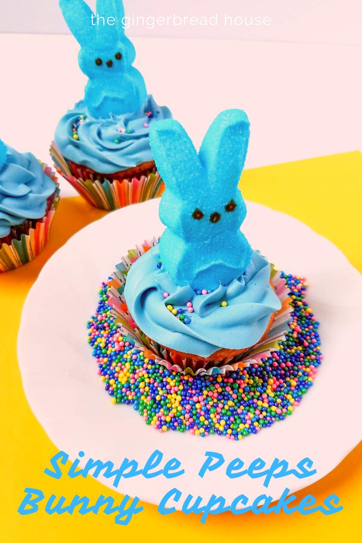 How to make Peeps Bunny Cupcakes