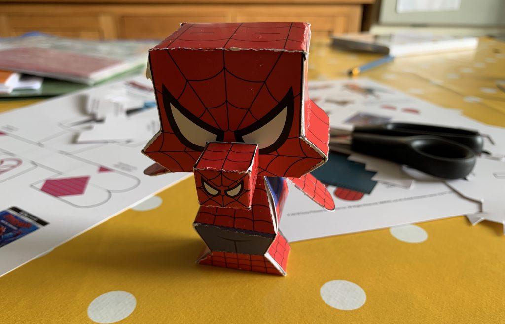 Peter Porker paper model