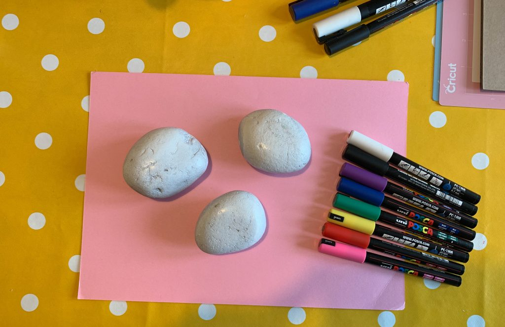 how to prepare rocks before painting them