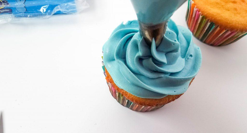 making peeps cupcakes