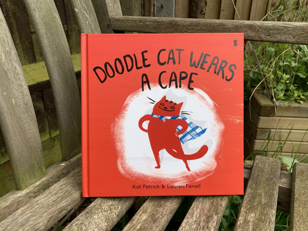 Doodle Cat Wears a Cape {review and giveaway}