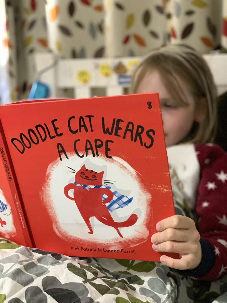 reading Doodle Cat