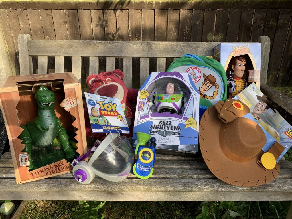 new Toy Story 4 range from shopDisney