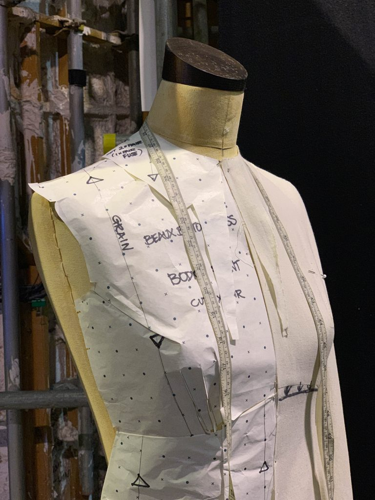costumes at the Harry Potter Studio