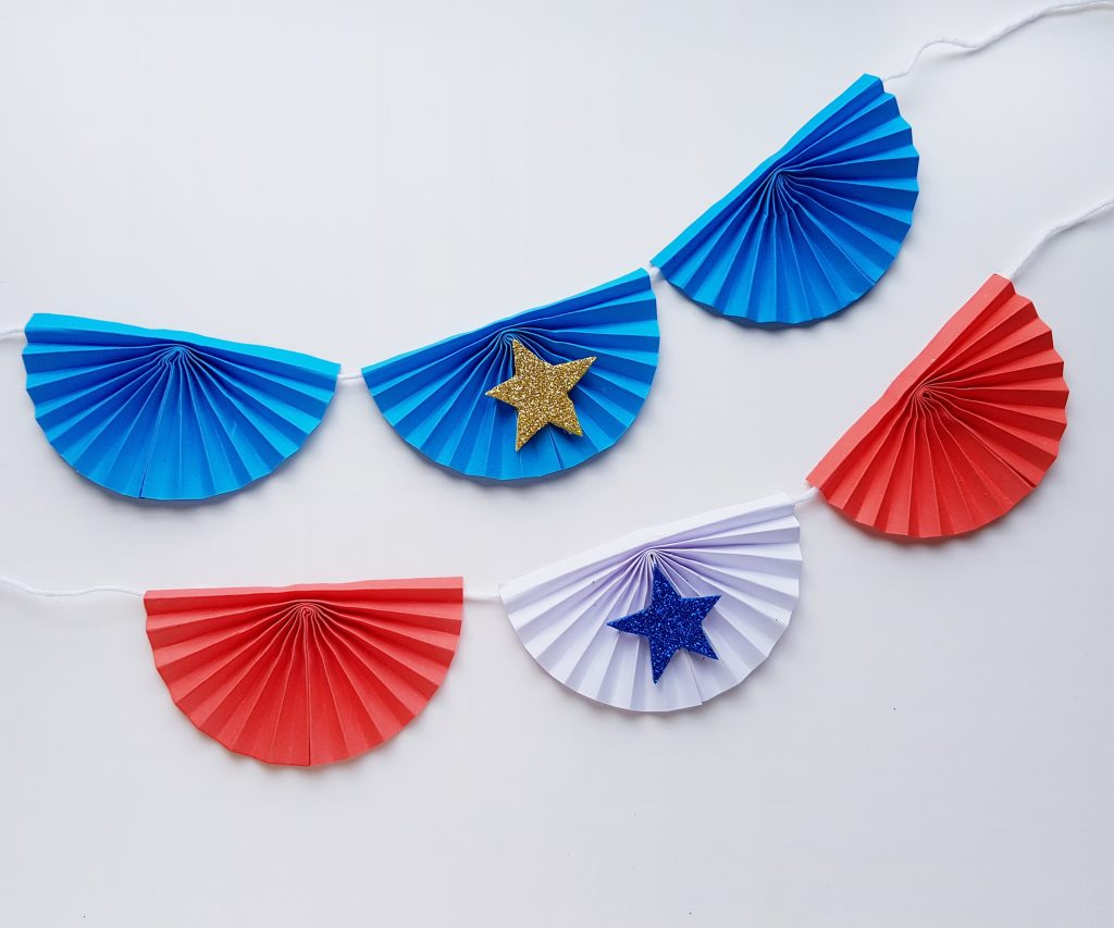 4th of July paper craft for kids