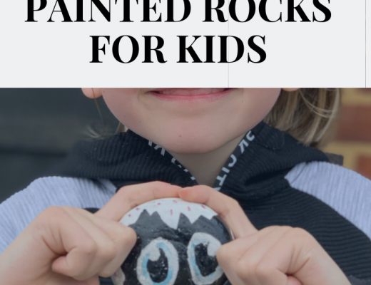Easy painted rocks for kids to make