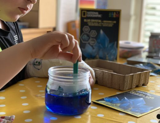 Experimenting with fun STEM kits at home