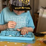 Half term crafting with Aquabeads Box of Fun - Safari