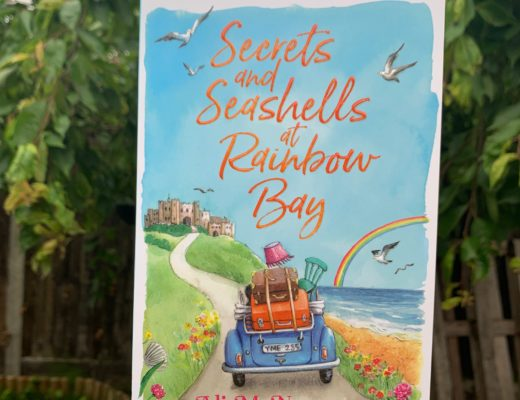 cover of Secrets and Seashells at Rainbow Bay by Ali McNamara