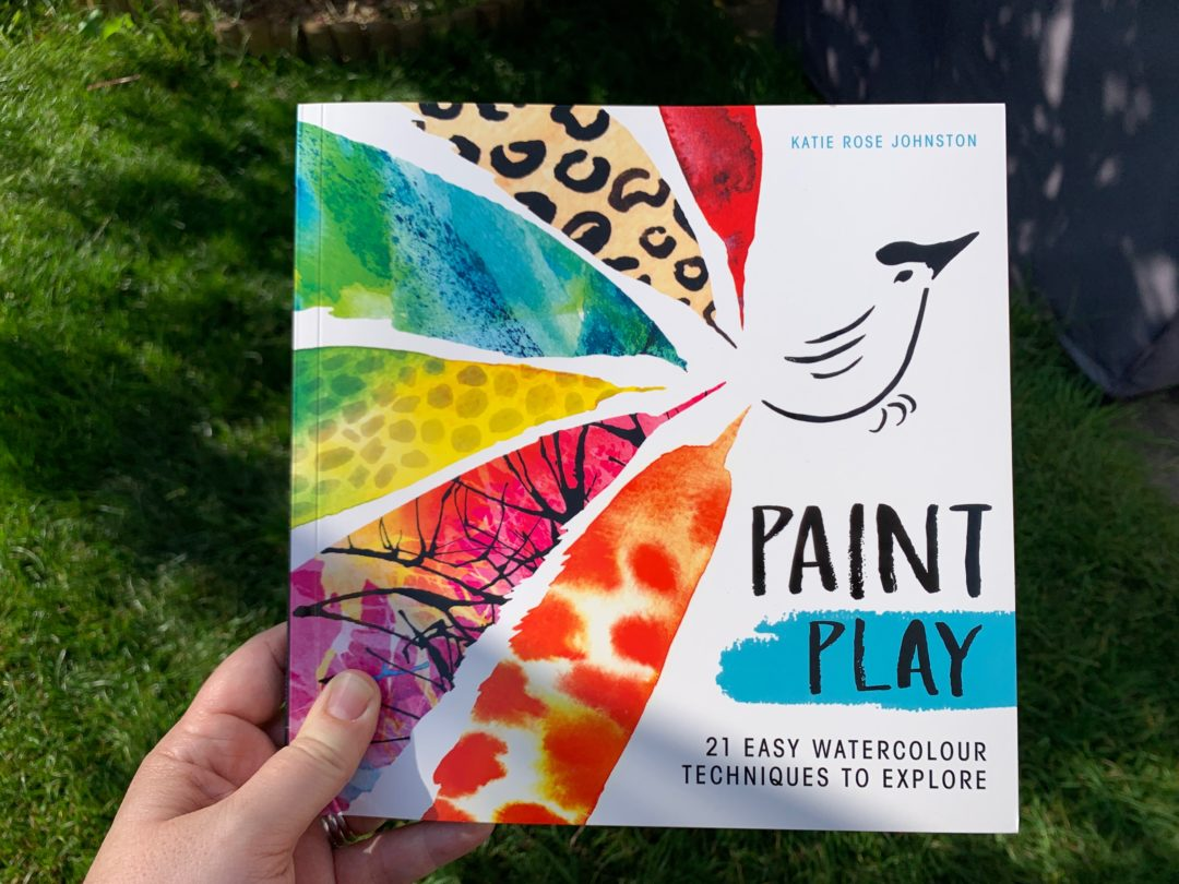 front cover of Paint Play: 21 Easy Watercolour Techniques to Explore