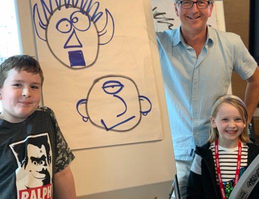 meeting Horrible Histories' Martin Brown