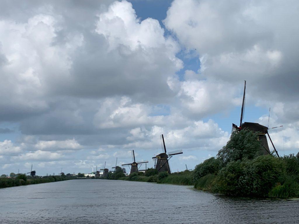 UNESCO World Heritage site of Kinderdijk