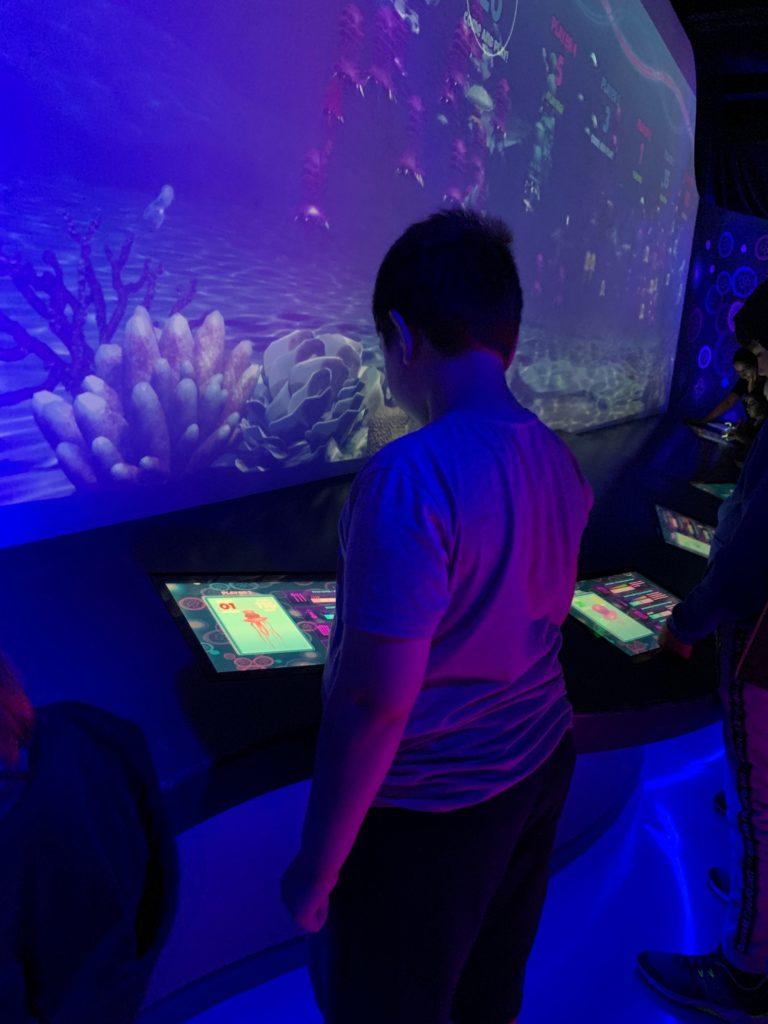 London Aquarium with kids
