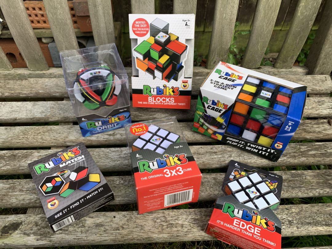 Summer fun with Rubik's