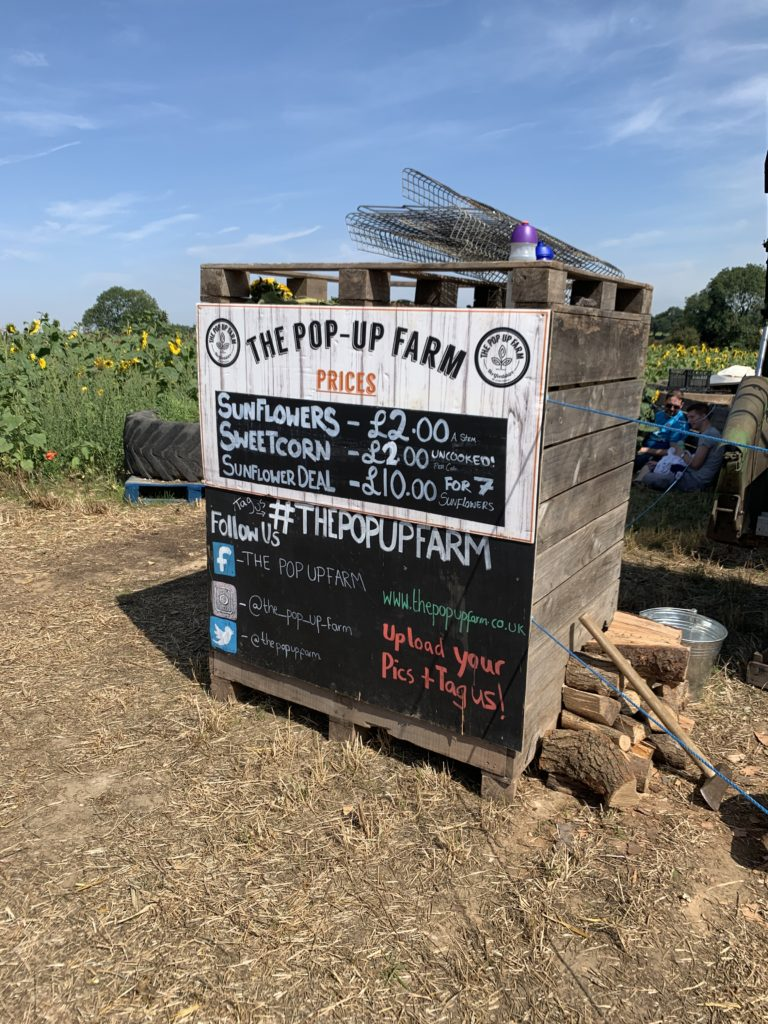 prices at The Pop Up Farm