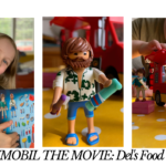Recreate Playmobil the Movie with Del's Food Truck