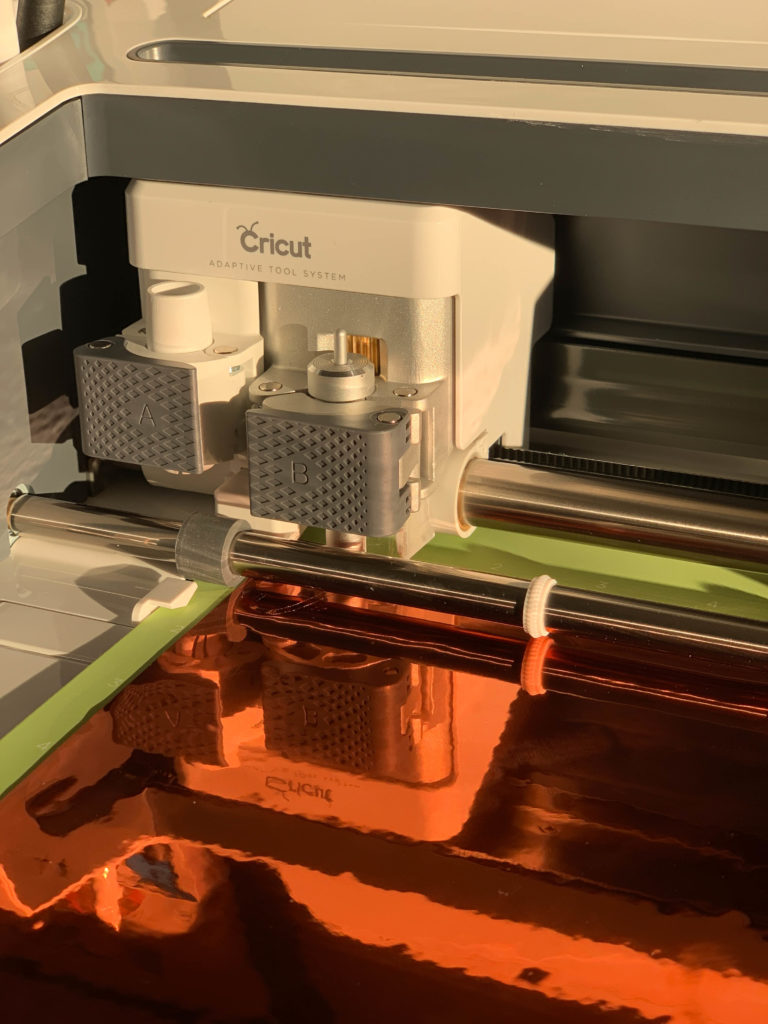 Cricut Maker cutting