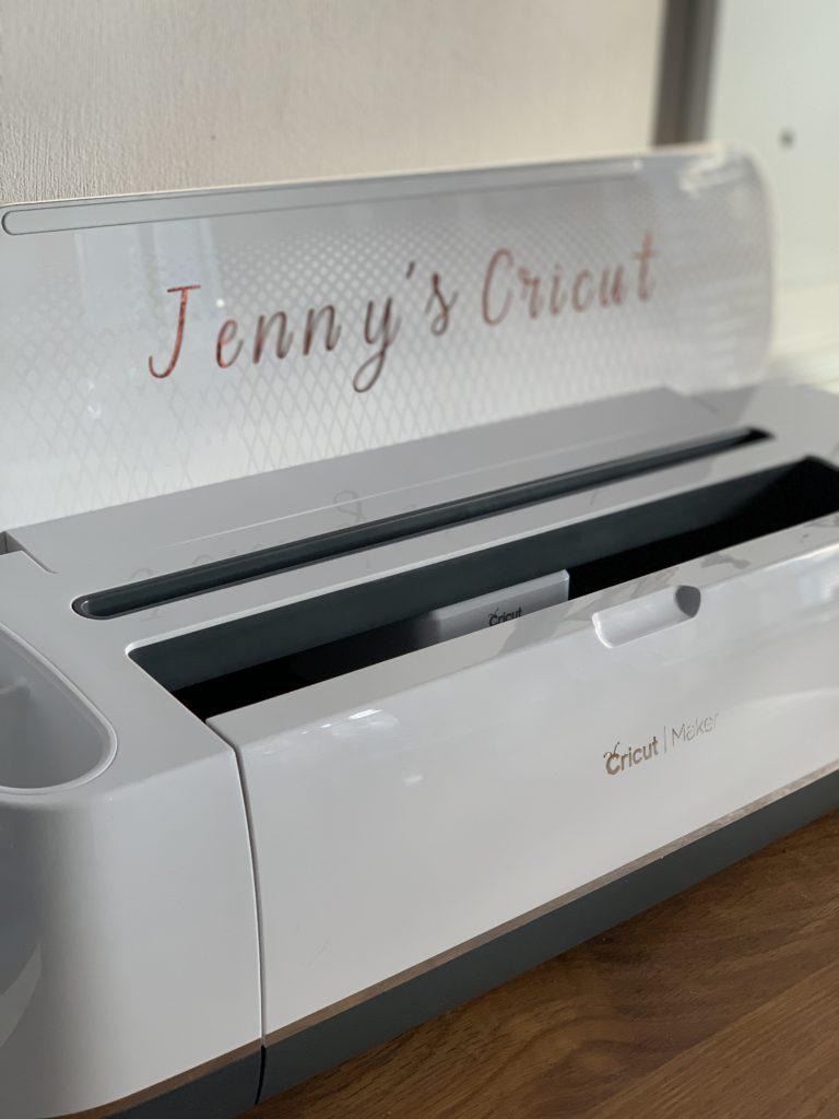 naming my Cricut machine