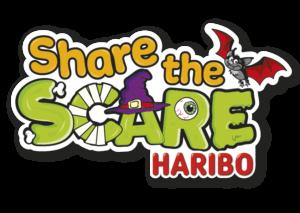 Haribo Share the Scare logo
