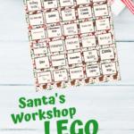 {Free printable} Santa's Workshop Lego Challenge