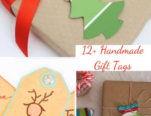 12 Handmade gift tags to make this Christmas