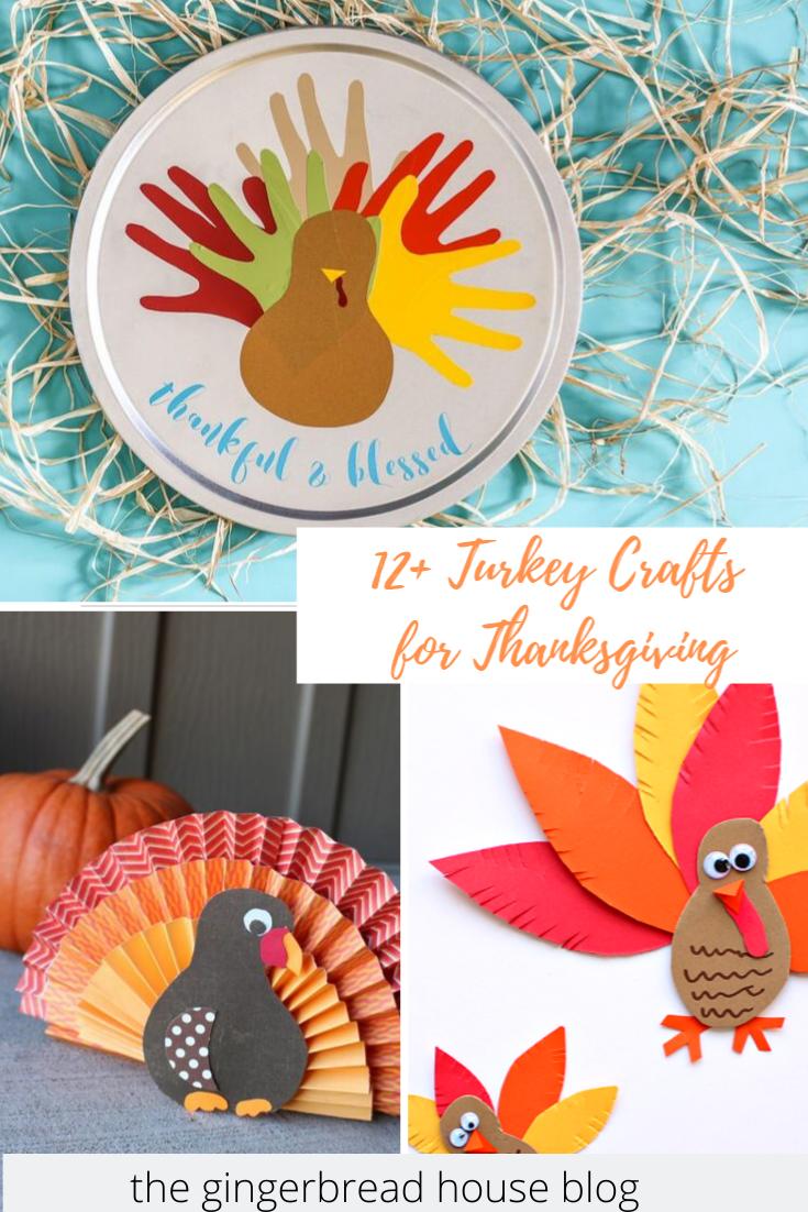 12+ Turkey Crafts for kids