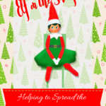{free printable} 24 Elf on the Shelf ideas for spreading Christmas cheer