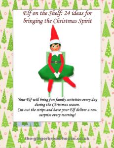 Elf on the Shelf spreading cheer