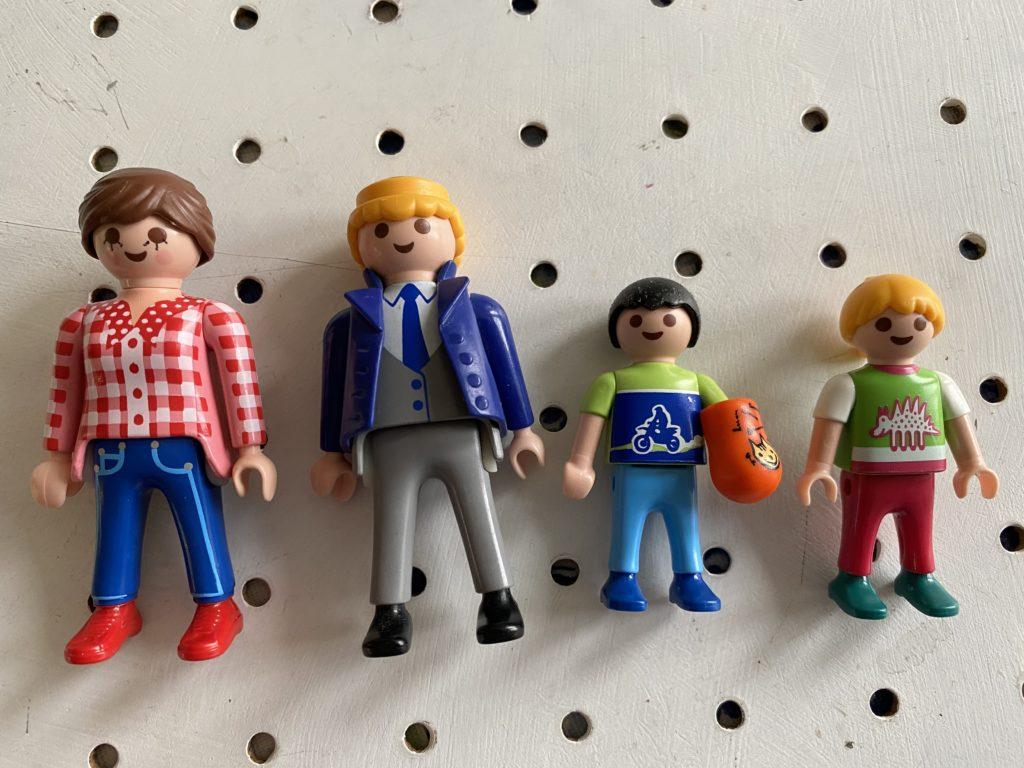 Playmobil family figures